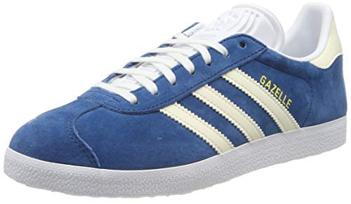 adidas Gazelle W, Zapatillas de Gimnasia Mujer, Azul (Legend Marine/Ecru Tint S18/Ftwr White Legend Marine/Ecru Tint S18/Ftwr White), 44 EU