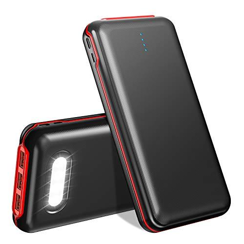 Power Bank 30000mAh, 22.5W QC 3.0 & 20W PD Schnelles Aufladen USB C Externer Akku mit 4 Ausgängen und 2 Eingängen Tragbares Ladegerät Kompatibel mit MacBook Pro Dell XPS iPad Pro iPhone12 und mehr