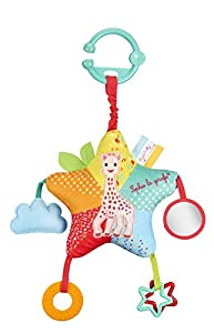 Sophie la jirafa Star Activities juguete de actividades, Multicolor, h400 x l250 x p80 mm