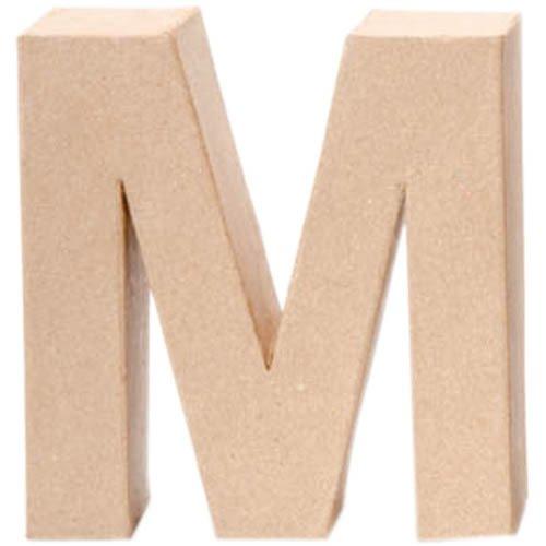Papp-Buchstabe M, 17,5x5,5cm [Spielzeug]