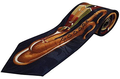 TIE coloré Cravate pour saxophone