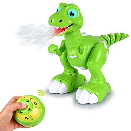 Abco Tech Remote Control RC Robot Dinosaur Toy – Sensing,...