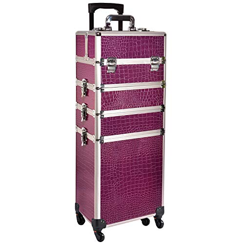 Funime 4 in 1 Professional Rolling Makeup Trolley Nail Technician Vanity...