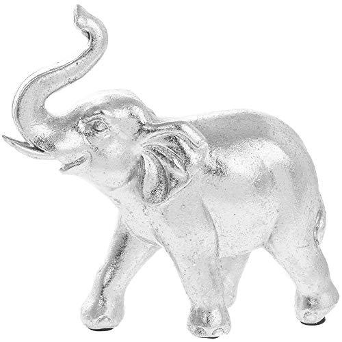 The Leonardo Collection - Figura Decorativa, diseño de Elefante - Amuleto y talismanes - Buena Suerte