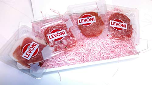 【レボーニ LEVONI】食べきりサイズ!!生ハムサラミ 小パックセット (ギフト包装)
