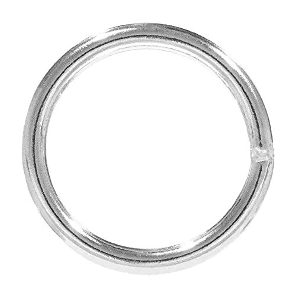 Craft County Welded Steel O-Rings – Great for DIY Projects, Decoration & Art – Multiple Diameters – Variety of Pack Sizes