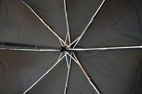 Fulton Fulton Open & Close 17 Black Unisex_adult Umbrella Black One Size