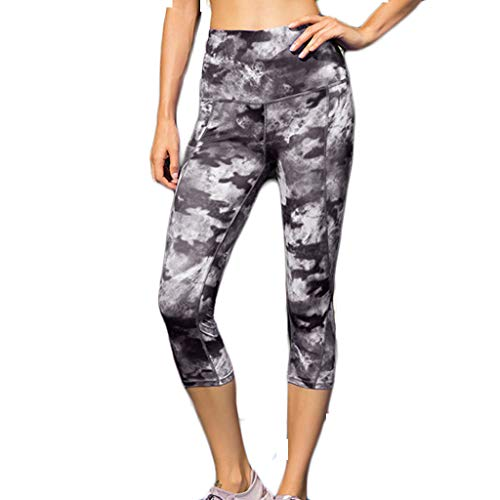 Berimaterry Mujer Casual Impreso Sporting Fitness Leggings