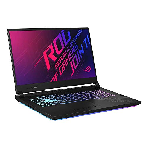 ASUS ROG Strix G17 G712LW 43,9 cm (17,3 Zoll, Full HD, IPS-Level, 144 Hz, matt) Gaming-Notebook (Intel Core i7-10750H, 16GB RAM, 512GB+512GB SSD ,  RTX2070, Windows 10) Original Black