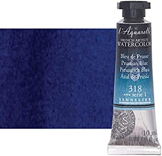 Sennelier l'Aquarelle Watercolor Tubes 10ml - Prussian Blue 10ml Tube