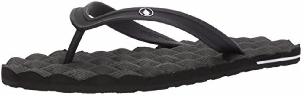 Volcom Men's Recliner Rubber Strap Flip Flop Sandal