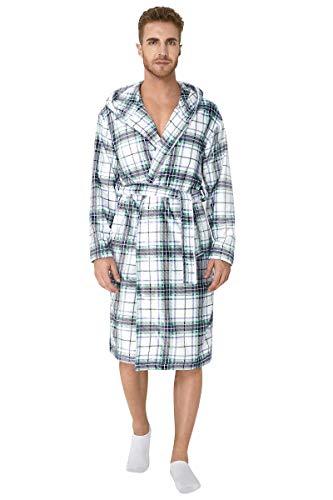 Fanient Toallas para hombres chal toalla toalla bata bata bata bata de...