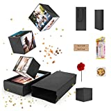 FORIZEN Explosion Box Scrapbook Creative, DIY Álbum de Fotos Libro de...