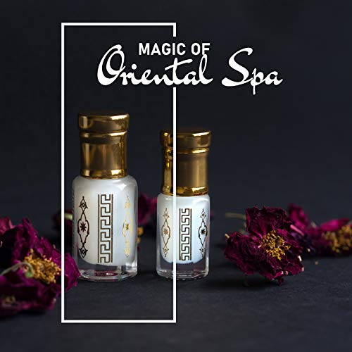 Magic of Oriental Spa - Feel Like an Arab Princess Surrounded by Fragrant Oils, Wellness Oasis, Ambient Smell of Incense, Henna Drawings, Colorful Candles
