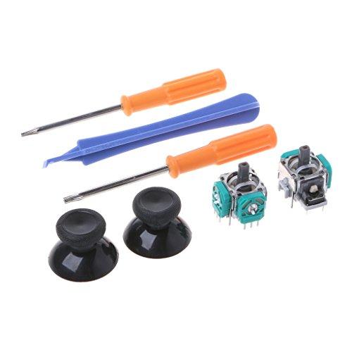 Cuigu Joystick-Kappe, Analog, Reparaturwerkzeug für Schraubendreher für Controller