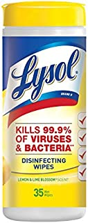 Lysol Disinfecting Wipes, Lemon & Lime Blossom, 35ct