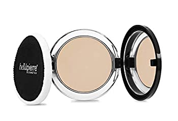 bellapierre 5-in-1 Compact Mineral Foundation SPF 15 | All-Natural Vegan & Cruelty Free Full Coverage Concealer | Hypoallergenic & Safe for All Skin Types | Oil & Talc Free - 0.35 Oz Ivory