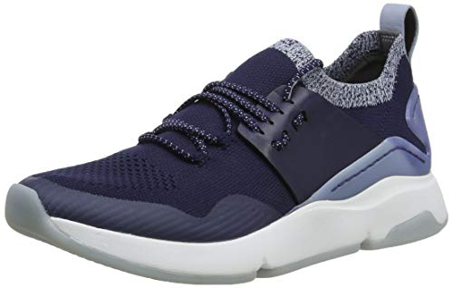 Cole Haan Zerogrand All-Day Trainer, Zapatillas para Mujer, Azul (Maritime Blue Knit/Maritime Blue Leather/Optic White Maritime Blue/Opt), 36 EU