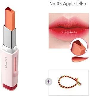 Laneige Two Tone Tint Lip Bar 0.07oz(2g) No.05 Apple Jell-o