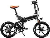 Bicicleta Eléctrica Bicicleta eléctrica de la bicicleta eléctrica de la ciudad plegable con la bicicleta de montaña del deporte eléctrico con 48V 8AH Bicicleta eléctrica con batería de litio oculta ex