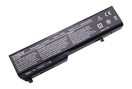 vhbw Li-ION Batterie 4400mAh (11.1V) pour Ordinateur Portable, Notebook Dell Vostro 1310, 1320, 1520, 2510, 510 comme 312-0724, 0K738H.