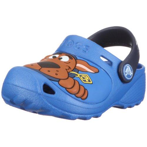 Crocs Scooby Doo II Custom Clog, Sabots Mixte Enfant, Bleu (Sea Blue/Navy) 19/21 EU