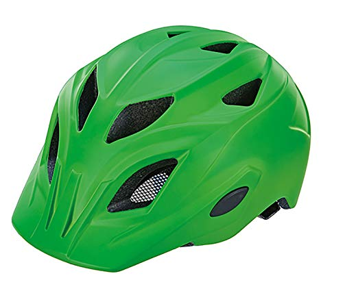 Prophete Unisex Jugend Inmold Kinder-Schutzhelm Größe: 52-56 cm, grün Fahrradhelm