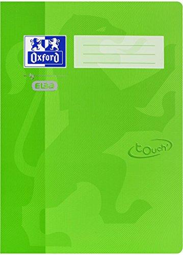 Oxford by ELBA 400103402 Schnellhefter aus festem Karton mit Soft Touch-Oberfläche für Format DIN A4 in der Farbe Grassgrün