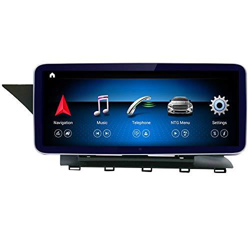 "Road Top Newest Qualcomm Android 10 10.25"" Car Touch Screen for Mercedes Benz GLK Class X204 GLK250 GLK300 GLK350 2009-2015 Year,with Wireless Carplay Split Screen 4GB RAM GPS Car Stereo Radio"