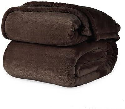 Berkshire VelvetLoft Polyester Blanket (King, Rich Cocoa)