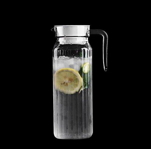 SHULING Transparente Hitzebeständige Kalten Wasserkocher Zitronensaft Jug Wasserkocher Home Drink-Maker Plastik Wasser Schüssel, AE, 1.1L 冷