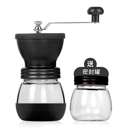 Máquina de café automática portátil cafetera eléctrica café Incorporado Filtro para la cápsula Original K-Cup y Molinillo de Frijol Manual B