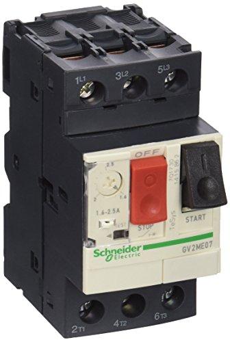 Schneider GV2ME07 Motorschutzschalter, 3P, 1, 6-2, 5A, Tasterbetätigung, Schraubanschluss