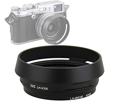 JJC LH-JX100 BLACK Metal Lens Hood/ 49mm Filter Adapter Ring for...
