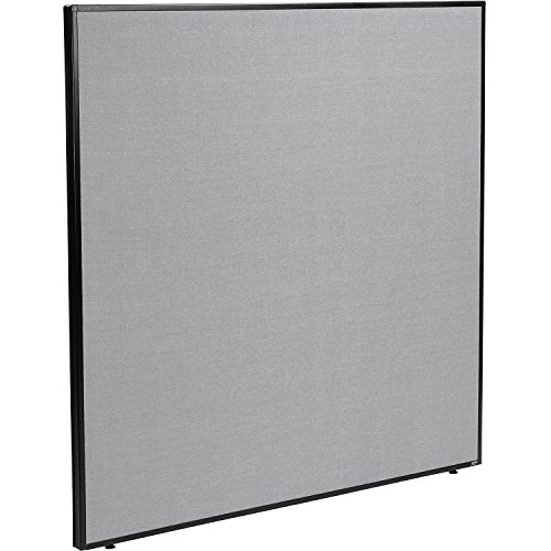 60-1/4W x 60H Office Partition Panel, Gray