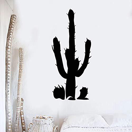 Tianpengyuanshuai cactus wandtattoo plant woestijn bloem natuur slaapkamer woonkamer decoratie vinyl raamsticker