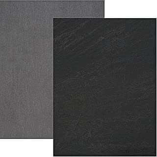 Backdrop Alley Charcoal/Light Grey Reversible Muslin Photo Background, 10` x 12`