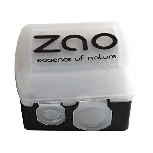 Zao Makeup : Un Taille Crayons double (2 tailles) avec réservoir