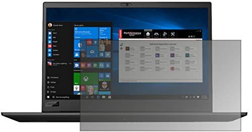 dipos I Protección de la Vista Compatible con Lenovo ThinkPad P1 Protector de Pantalla Privacy
