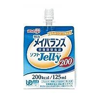 明治メイバランス ソフトjelly はちみつヨーグルト味 (200kcal) 125ml×24個
