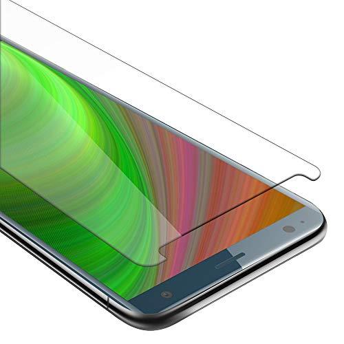 Cadorabo Panzerglasfolie für Sony Xperia XZ2 - Schutzfolie in KRISTALL KLAR - Gehärtet (Tempered) Bildschirmschutz Glas in 9H Festigkeit mit 3D Touch Kompatibilität