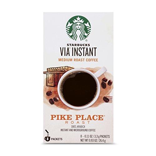 Starbucks VIA Instant Pike Place Roast Medium Roast Coffee