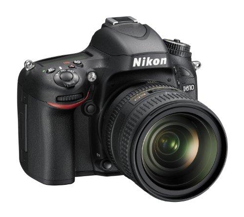 Nikon D610Cámara réflex Digital. 24,3megapíxeles, LCD 3,2Pulgadas, SD 8GB Lexar Premium, Color Negro