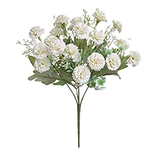 Silk Flower Arrangements Artificial and Dried Flower Artificial Flowers Simulation Hydrangea Fake Silk Flower Home Party Garden Small Lilac Flowers Home Decor N - ( Color: 3)