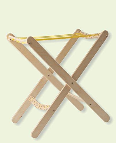 Dida - Kleiner Holz-Wäscheständer, Spiel Der Imitation, Haushaltsspielzeug, Interessant Für Den Kindergarten Und Die Kinderkrippe