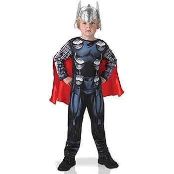 Rubies Disfraz oficial de Thor de Los Vengadores clásico s para ...