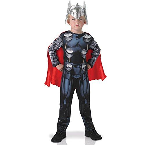 Rubie's - Conjunto clásico de Thor Avengers para niños, tamaño pequeño