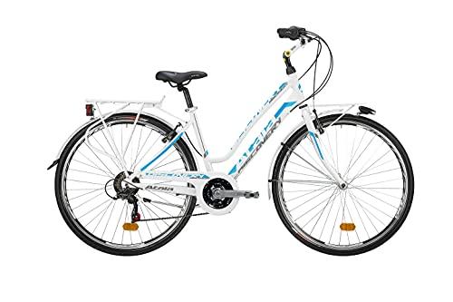 ATALA DISCOVERY S 21V LADY bicicletta da donna bici trekking 28'' city bike bianca
