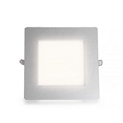 Ultraslim LED panneau rectangulaire encastré blanc neutre 1501LM 21W (S) Ø 203 mm