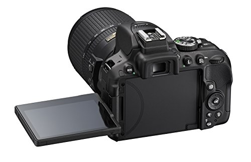 Nikon D5300 Corpo Fotocamera Digitale Reflex, 24.1 Mbps, LCD HD da 3